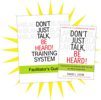 Don't Just Talk Be Heard Facilitator's Guide